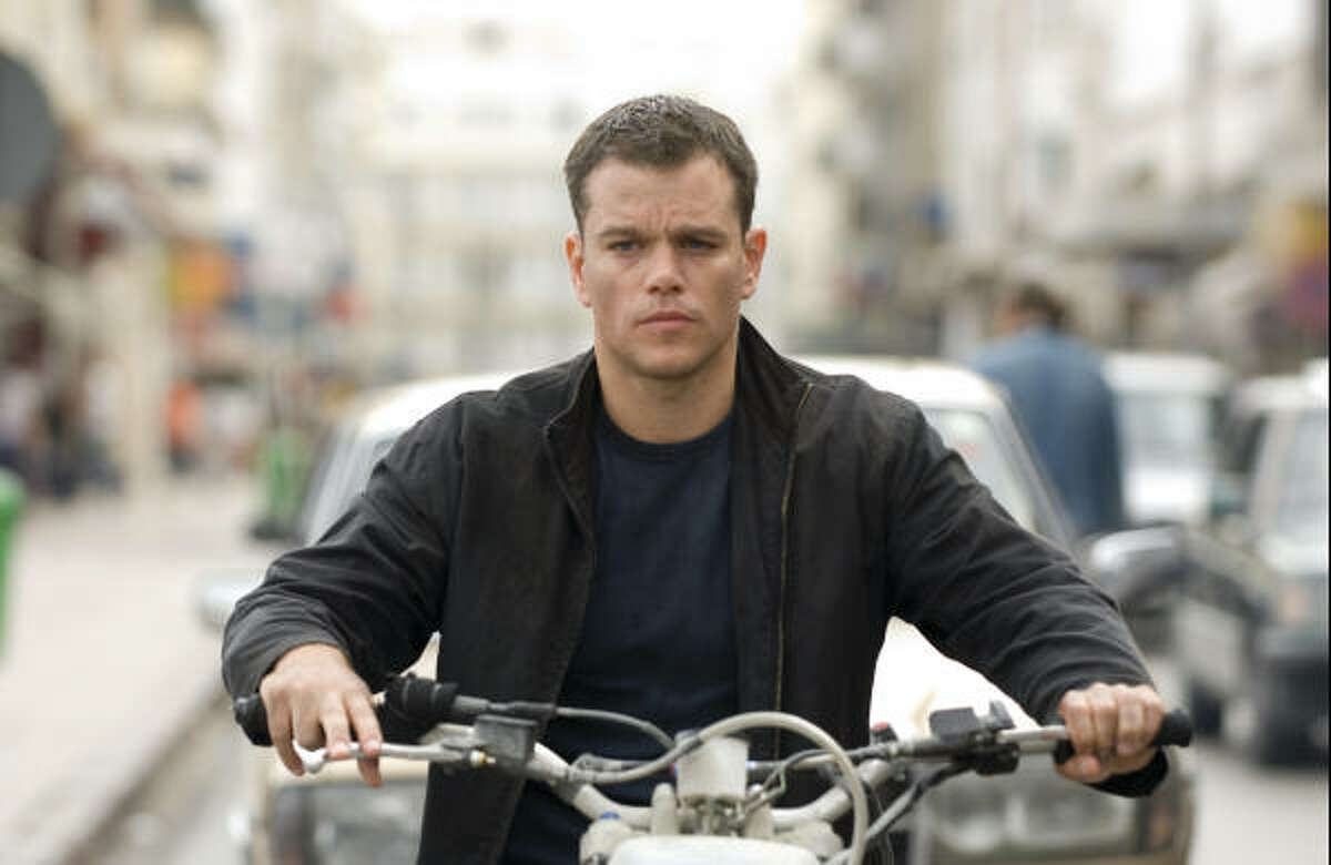 Jason Bourne (Matt Damon) tracks his subject in Tangier in the espionage thriller that takes Bourne back home, The Bourne Ultimatum.
