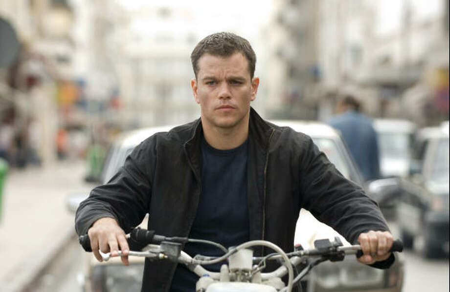 Jason Bourne (Matt Damon) tracks his subject in Tangier in the espionage thriller that takes Bourne back home, The Bourne Ultimatum. Photo: Jasin Boland, Universal Pictures