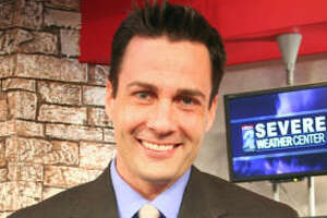Channel 2 weatherman Eric Braate