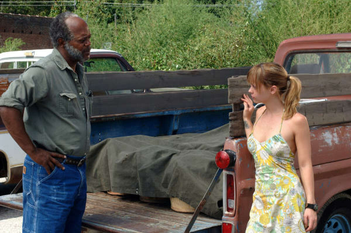 Samuel L. Jackson and Christina Ricci star in Black Snake Moan.