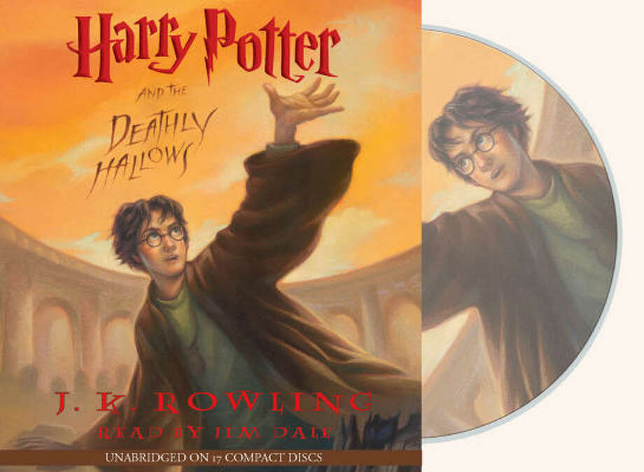 Harry Potter and the Deathly Hallows audiobook.