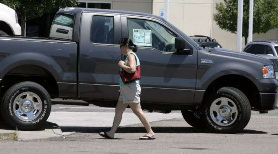 No. 1: Ford trucks (146 reported stolen) Photo: DAVID ZALUBOWSKI, ASSOCIATED PRESS