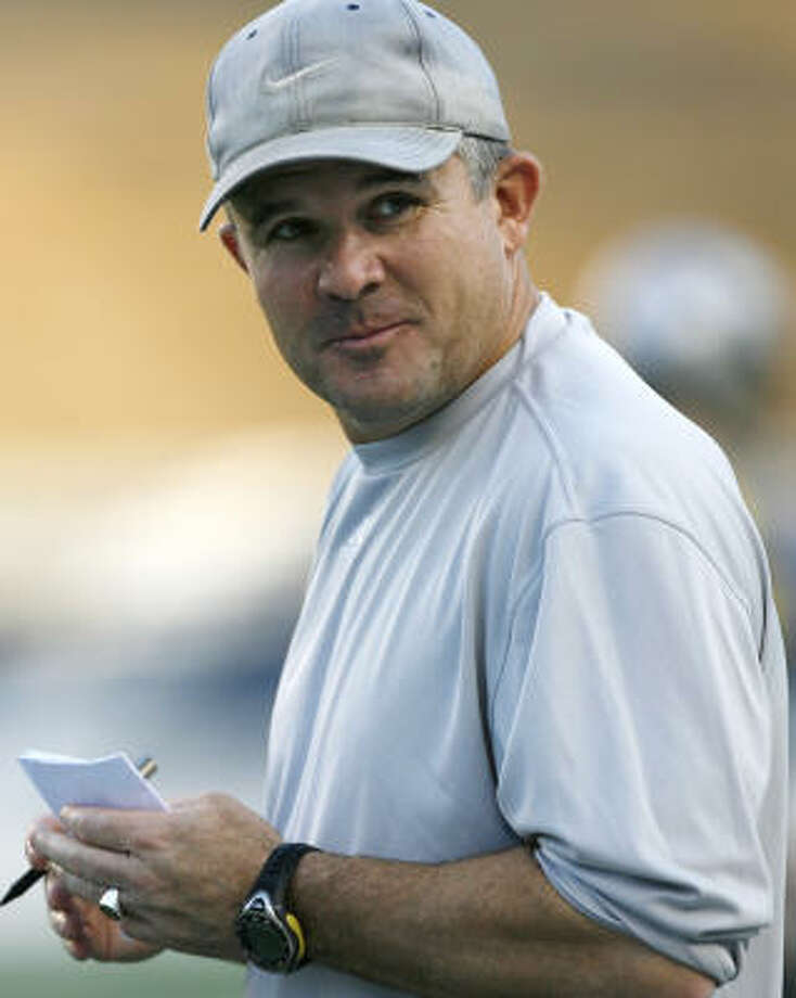 Todd Graham's stint at Rice turned out to be much shorter than anyone would have imagined. Photo: Billy Smith II, Chronicle
