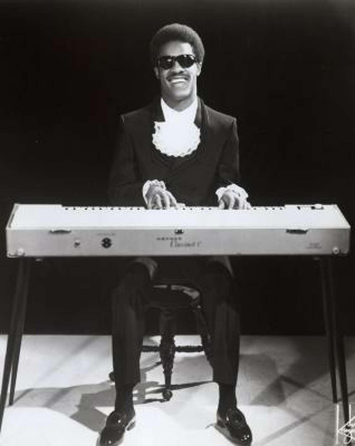 The clavinet defined Stevie Wonder's sound.