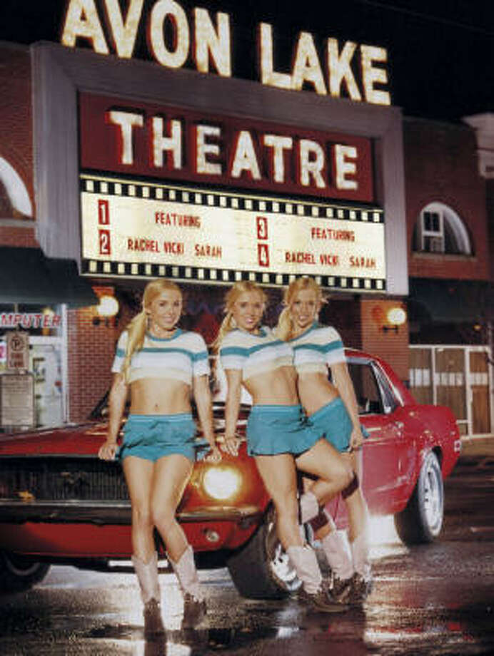 The 23-year-old Satterfield sisters - Rachel, Vicki and Sarah - are featured in the current issue of Playboy. Photo: Playboy Magazine