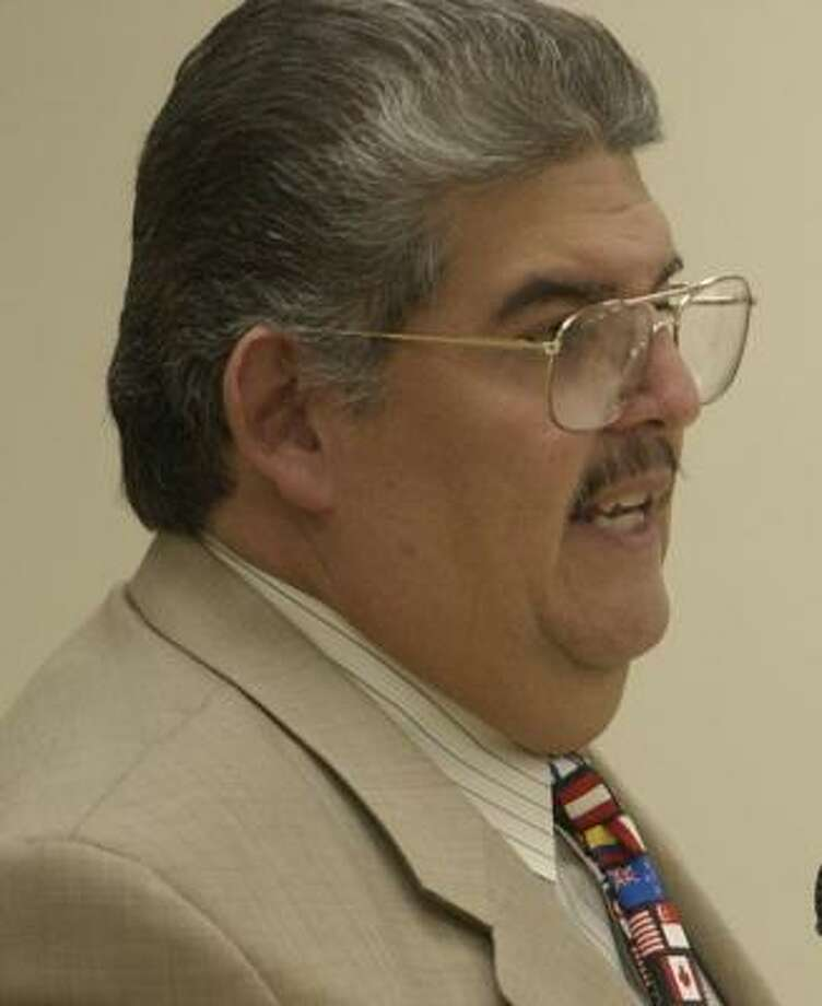 Manuel Rodríguez Jr. is the school board's first vice president. Photo: Karen Warren, Chronicle