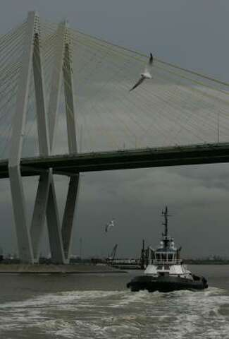 Agile tugboat ready for giants of Ship Channel - Houston