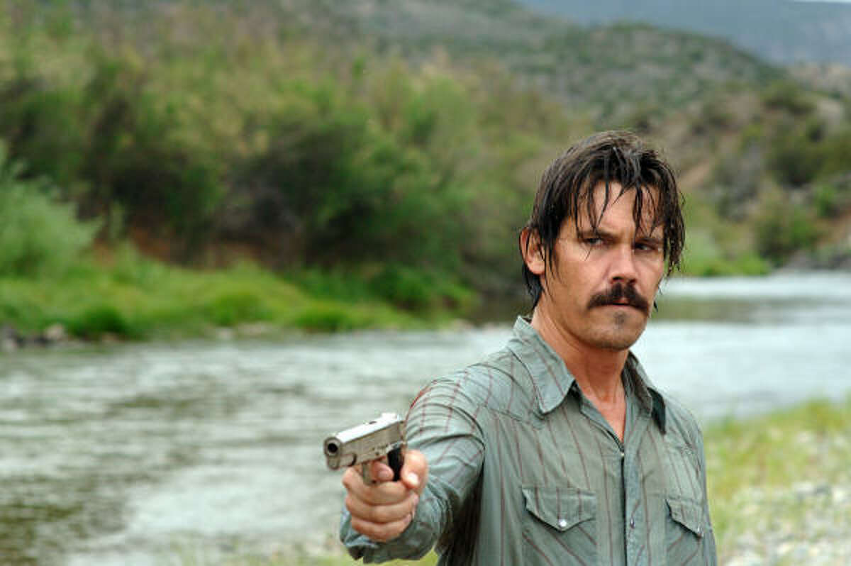 Josh Brolin stars as Llewelyn Moss in No Country for Old Men.