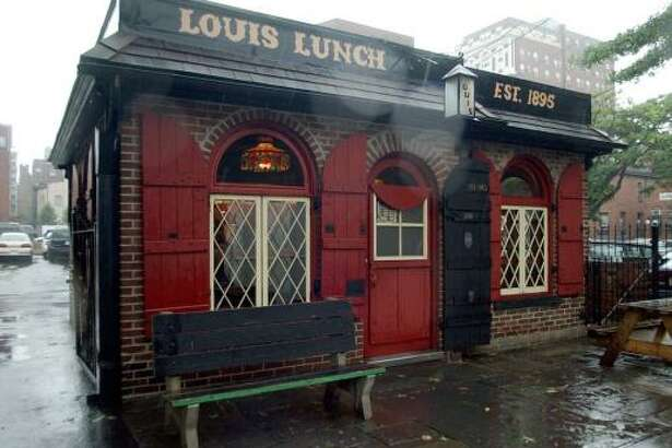The only acceptable toppings on a hamburger from Louis' Lunch in New Haven, Conn., are cheese, tomato and onion.