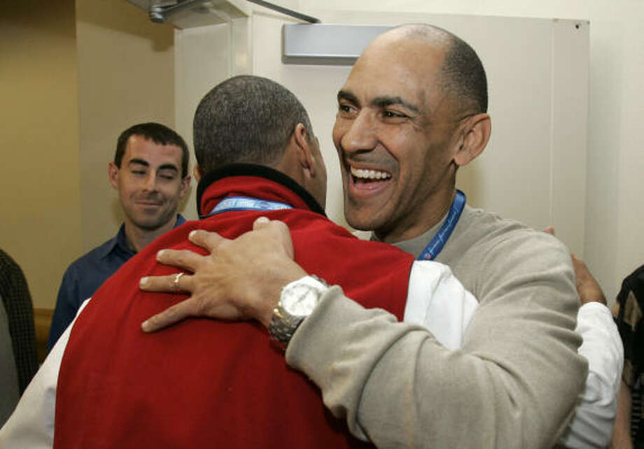 Colts coach Tony Dungy, right, drew the ire of some when he threw his support behind a controversial move to amend the state constitution in Indiana. Photo: Michael Conroy, AP