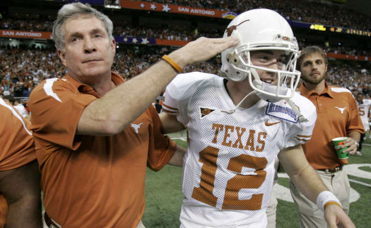 Mack Brown's Longhorns will be tough to deal with if Colt McCoy lives up to his preseason expectations.