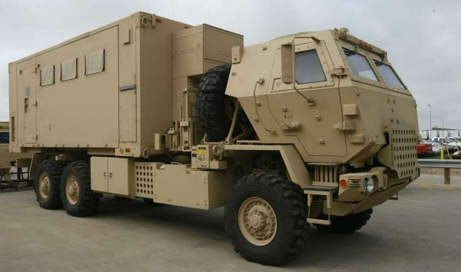 Sealy Plant Rolls Out New Heavily Armored Vehicle For