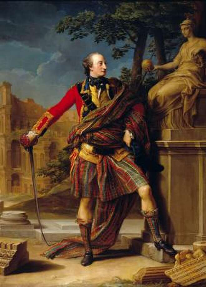 Batoni painted this portrait of Col. the Hon. William Gordon in 1766. Photo: THE NATIONAL TRUST FOR SCOTLAND, FYVIE CASTLE, ABERDEENSHIRE