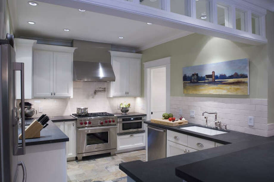 This Montrose kitchen was designed by Robert Reid of Brooks-Reid Studio. Photo: Kennon Eve, Kennon Photography