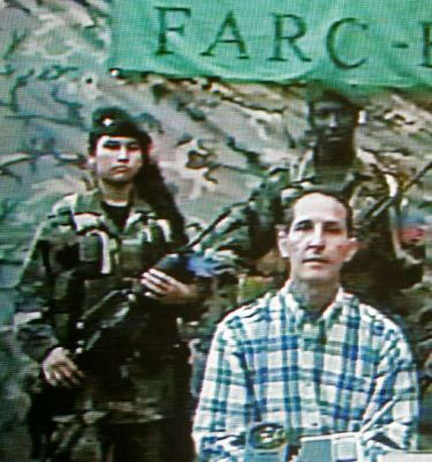 Rebels held Fernando Araujo for six years before he escaped during a government raid. Photo: STR, AFP/GETTY IMAGES