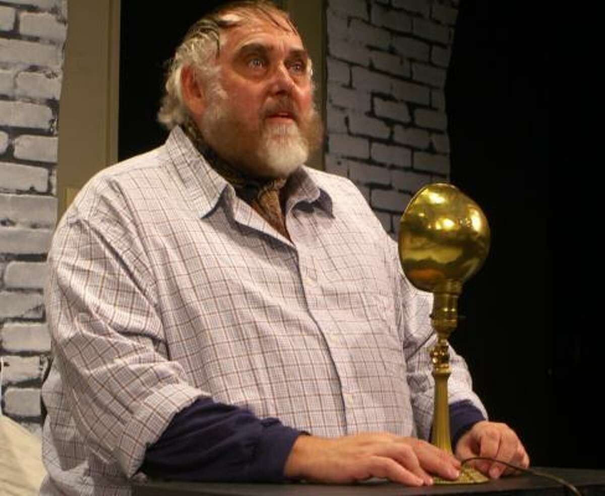 Jim Brochu portrays Zero Mostel in Zero Hour.