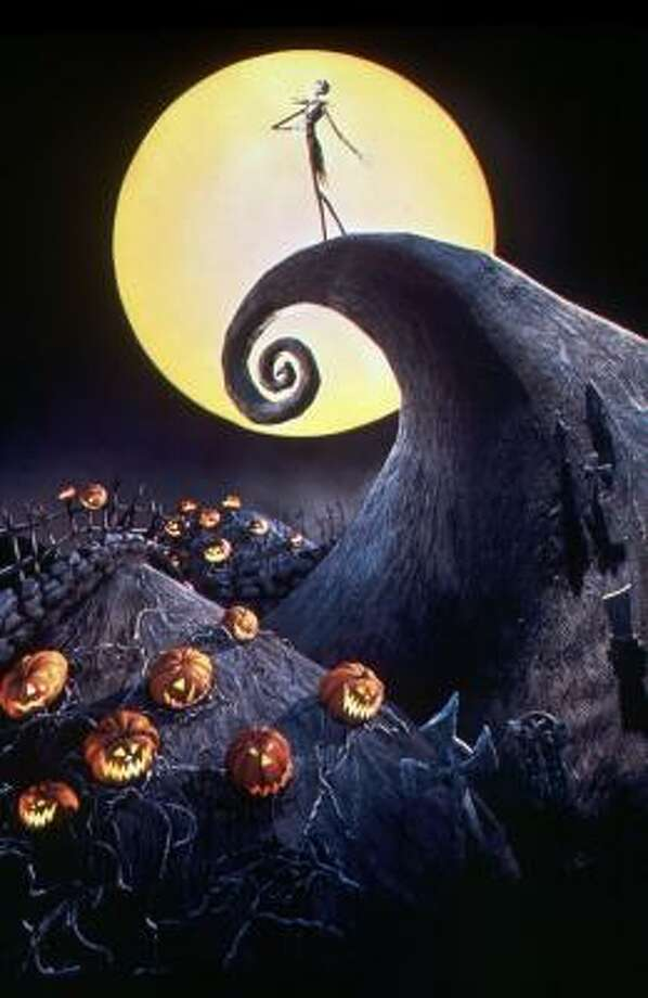 Jack Skellington, the Pumpkin King in Halloweentown, decides to take over Christmas in Tim Burton's The Nightmare Before Christmas. Photo: Touchstone Pictures, NBC