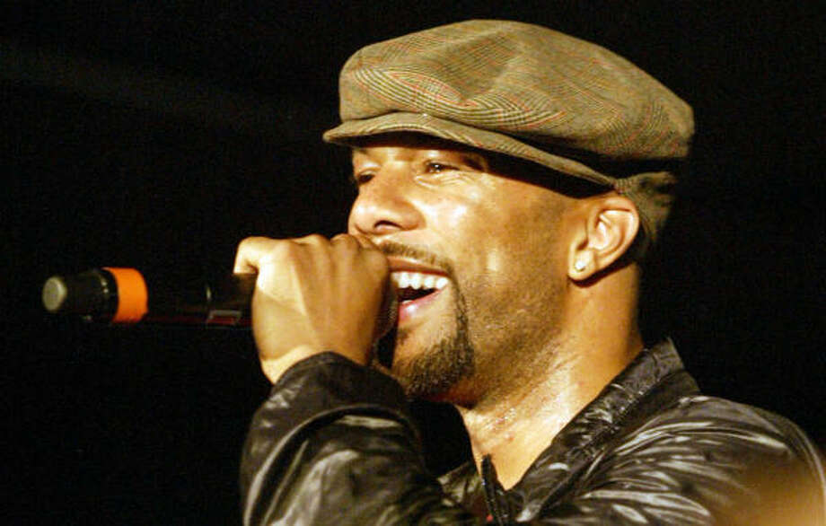 With production from Kanye West, Common offers a head-knocking collection of tunes on his seventh disc, Finding Forever. Photo: Katina Revels, Associated Press