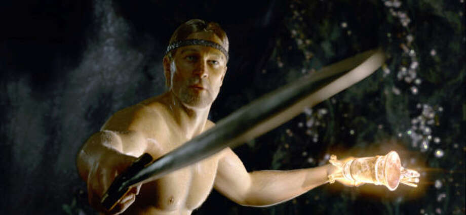 The Viking hero, Beowulf, sets out to avenge the death of his men in Beowulf. Photo: Paramount Pictures