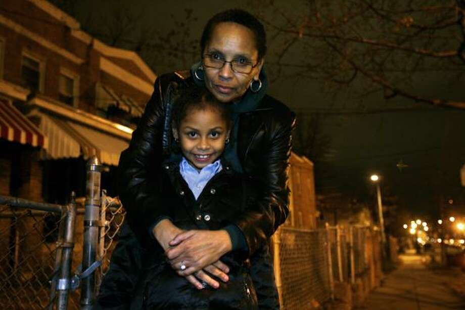 Gwen Lyda, of Oxon Hill, Md., is raising her 6-year-old granddaughter since her son was sent to prison in 2004. Photo: JACQUELYN MARTIN, ASSOCIATED PRESS