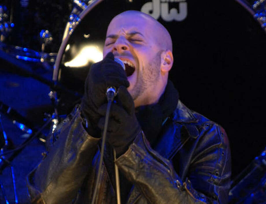 Chris Daughtry's self-titled debut album was released in November. Photo: Henny Ray Abrams, Associated Press