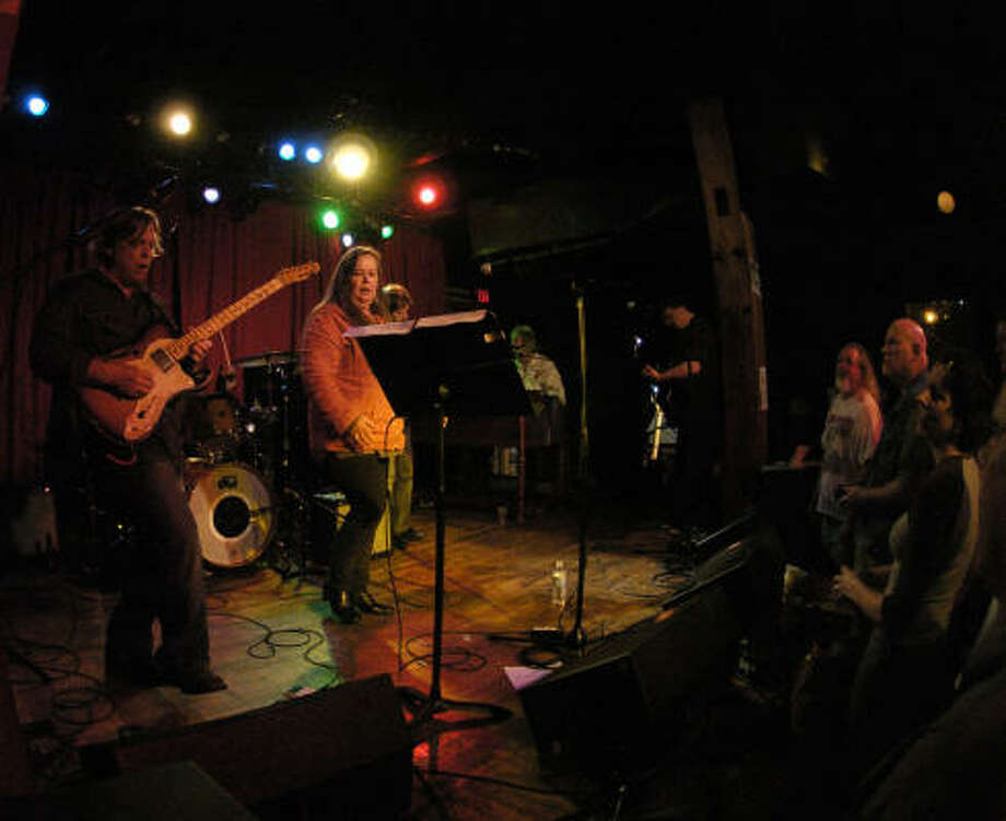 The Long Players perform at Mercy Lounge in Nashville. Photo: PAUL J. LEVY, Associated Press