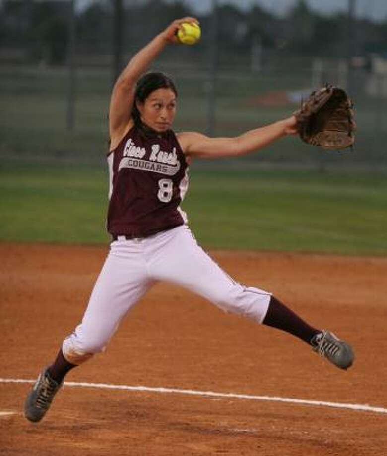 Kristie Chin and Cinco Ranch start their three-game series against Langham Creek on Friday. Photo: GARY FOUNTAIN, FOR THE CHRONICLE