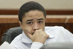 Dexter Johnson, shown at his trial on Wednesday, faces the death penalty.