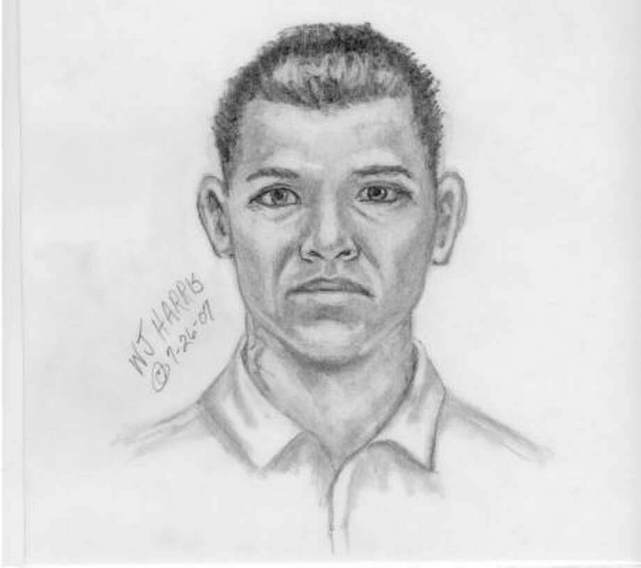 Fort Bend County Sheriff's spokeswoman Terriann Carlson said the man in the sketch is not a suspect in the case but someone police would like to interview. Photo: Fort Bend County Sheriff's