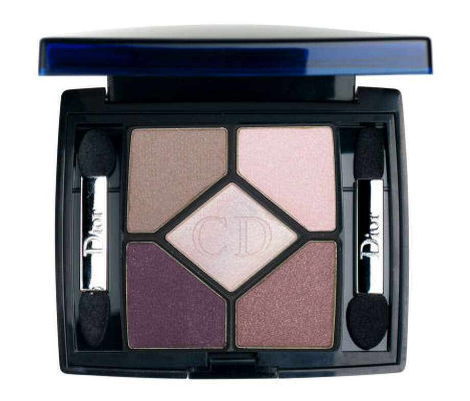 Christian Dior eye shadow ($52) in shades of purple makes any color eyes pop. Photo: Christian Dior Beauty
