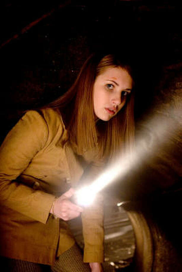 Nancy Drew (Emma Roberts) uses the tools of her trade, including a notebook for clues, in Nancy Drew. Photo: Courtesy Photo