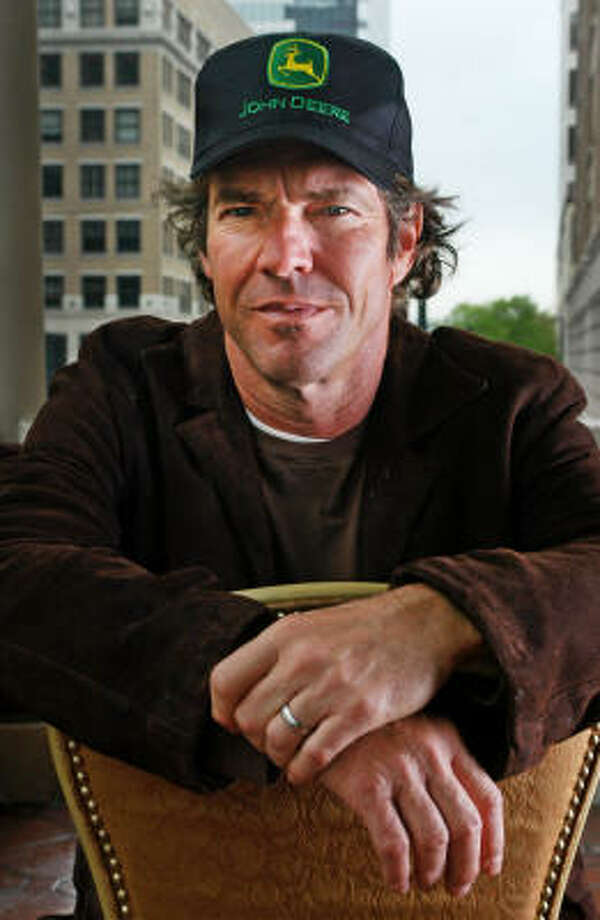 Actor Dennis Quaid photographed at the Driskill Hotel in Austin, Texas on March 19. Photo: Ha Lam, For The Chronicle