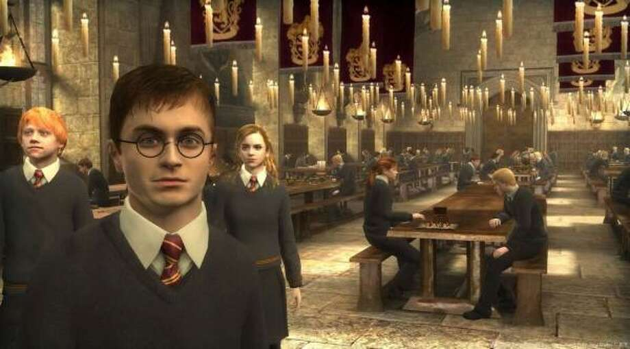 Exploring Hogwarts Castle is the best part of Harry Potter and the Order of the Phoenix, but only because the game is virtually unplayable. Photo: ELECTRONIC ARTS