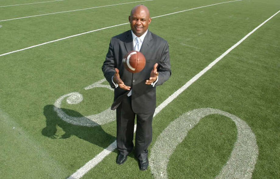 TSU Athletics Director Alois Blackwell is shown in this 2005 file photo at Durley Stadium at Texas Southern University. Photo: CARLOS JAVIER SANCHEZ, FOR THE CHRONICLE