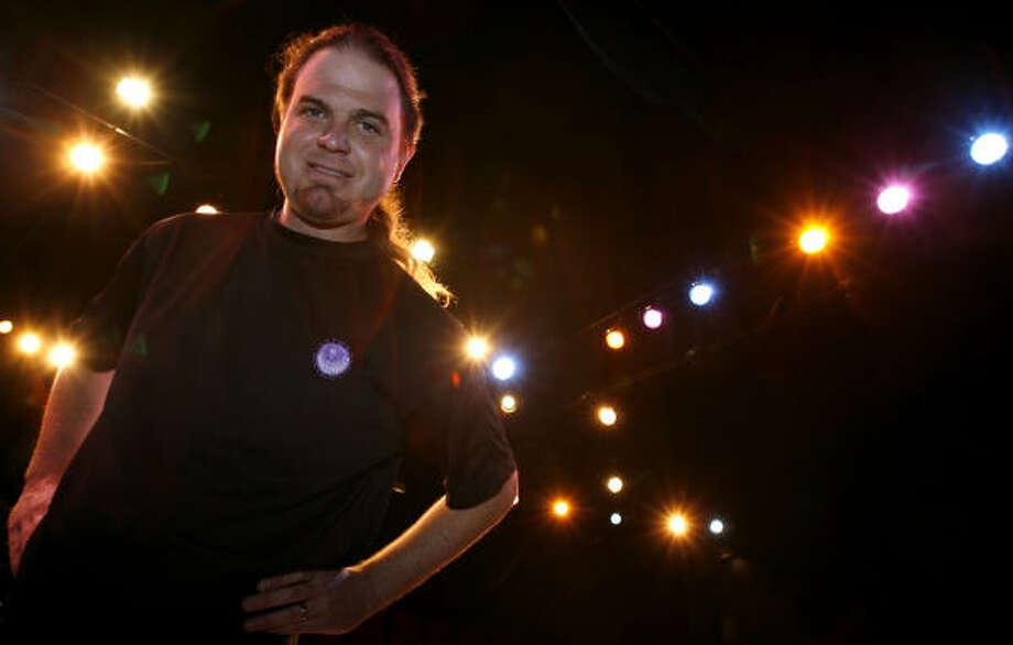 Kent Arneson is the founder of Arneson Productions. Photo: Karen Warren, Houston Chronicle