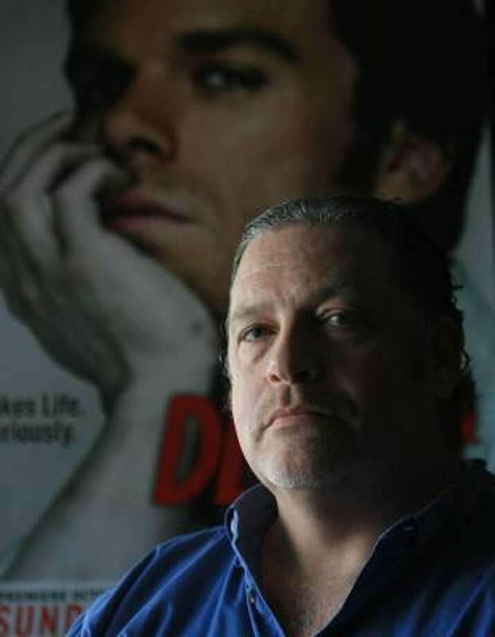 Jeff Lindsay's third Dexter book will hit book stores Sept 18. Photo: LUIS M. ALVAREZ, ASSOCIATED PRESS