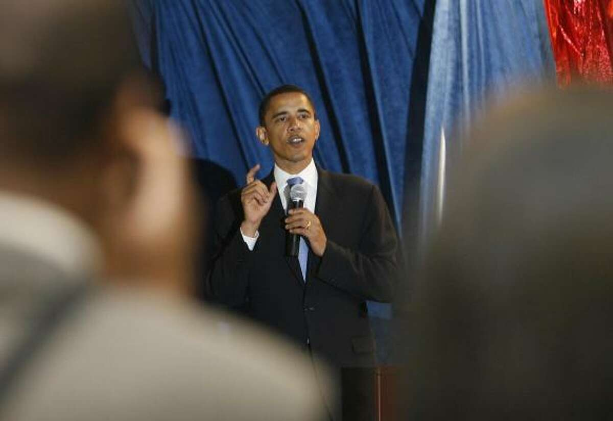 Democratic presidential candidate Sen. Barack Obama says the nation needs consensus.