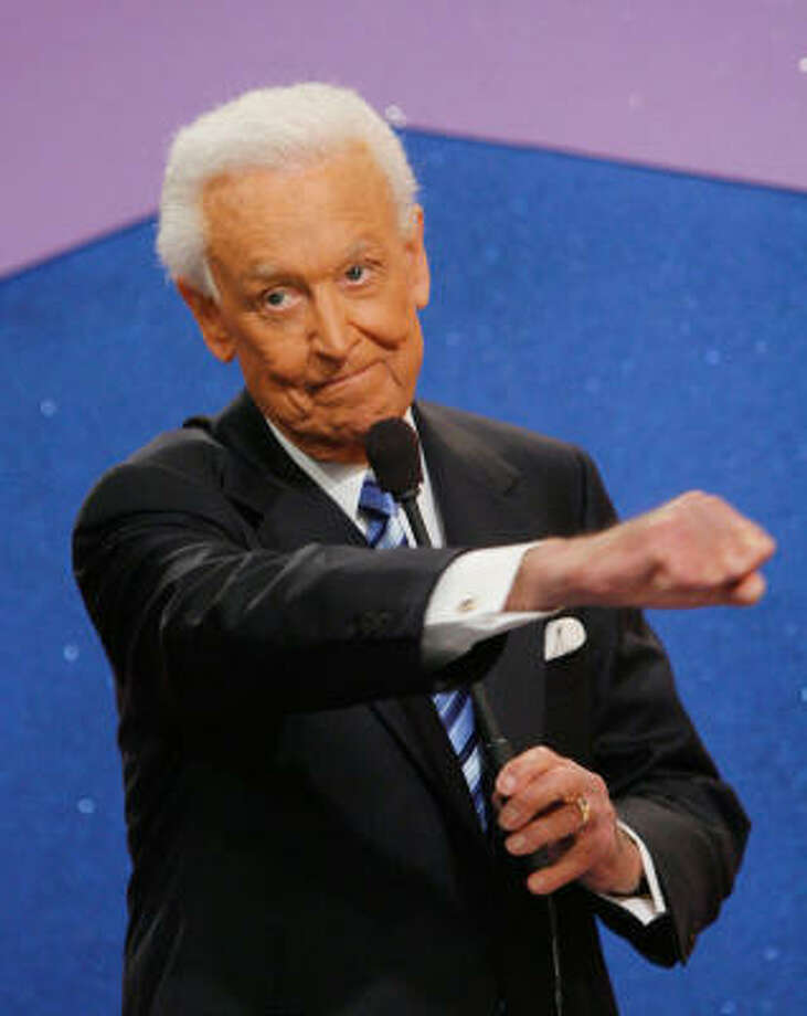 Television host Bob Barker during his last taping of The Price is Right show held at the CBS television city studios on June 6. Photo: Mark Davis, Getty Images