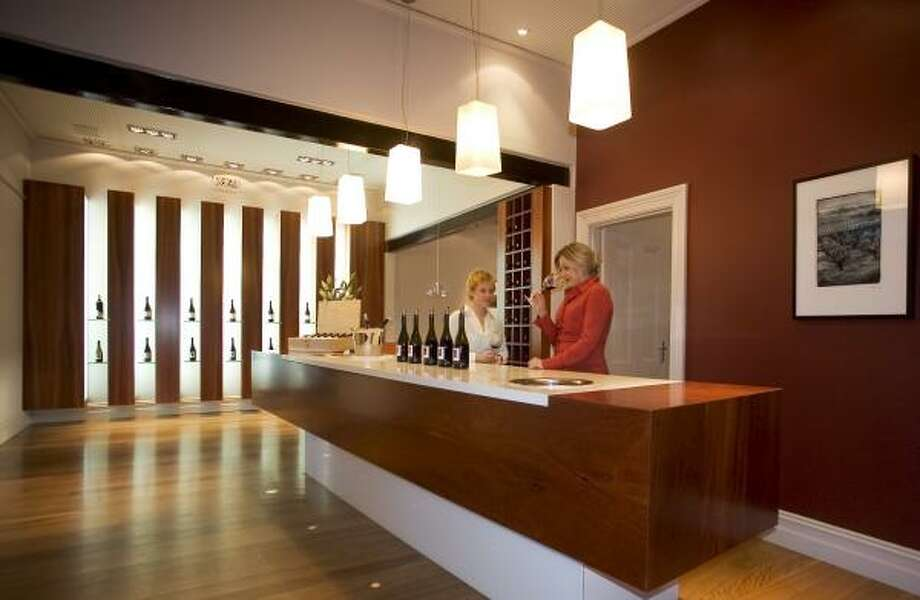 The tasting room of Two Hands Winery is in the Cellar Door, a renovated late-19th-century stone cottage and bakehouse. Photo: TWO HANDS WINERY