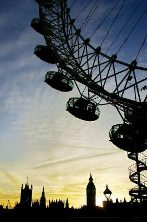The British Airways London Eye was named the top European attraction by TripAdvisor.com. Photo: JIM WATSON, AFP   GETTY IMAGES