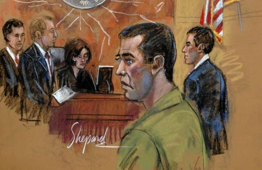 Former NBA referee Tim Donaghy's transgressions on NBA courts found him in a less-forgiving court. Photo: Andrea Shepard, AP