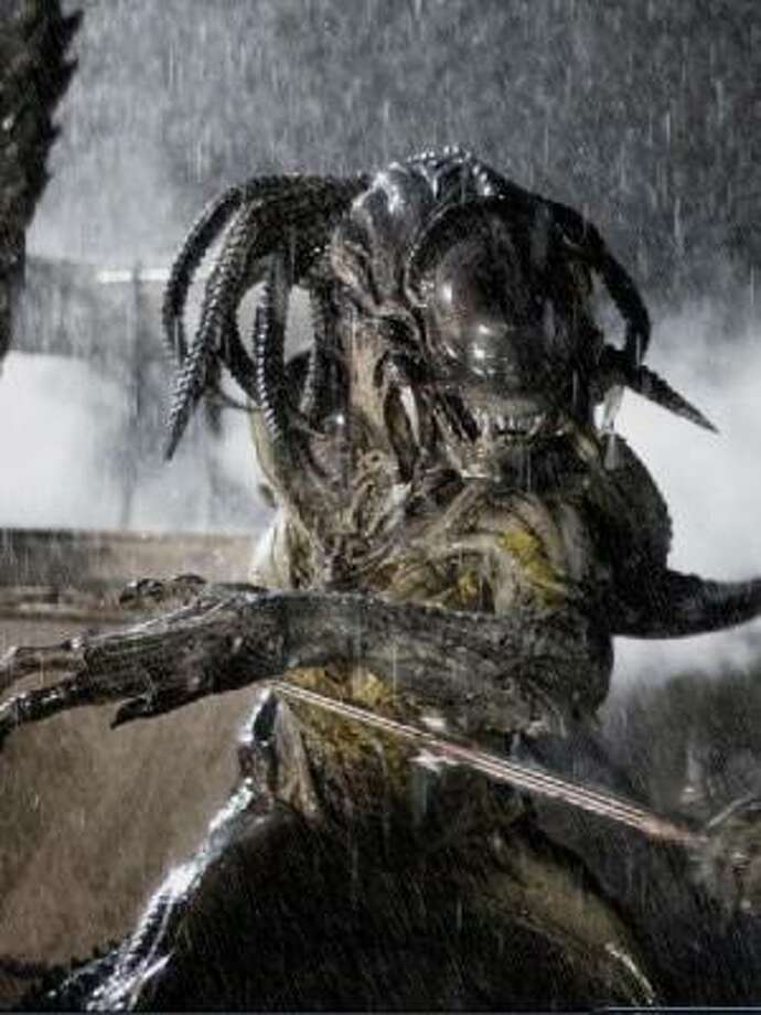 Two iconic creatures from classic films face off in Alien vs Predator: Requiem. Photo: 20th Century Fox