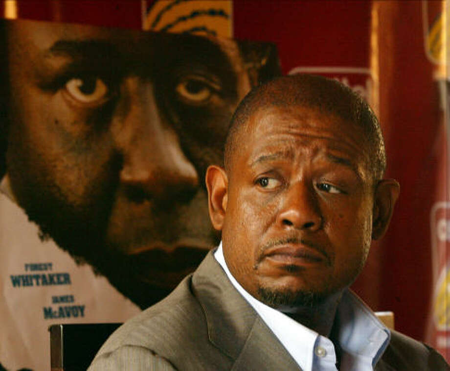 Forest Whitaker won the Oscar for best actor for his role in The Last King of Scotland. Photo: SAYYID AZIM, Associated Press