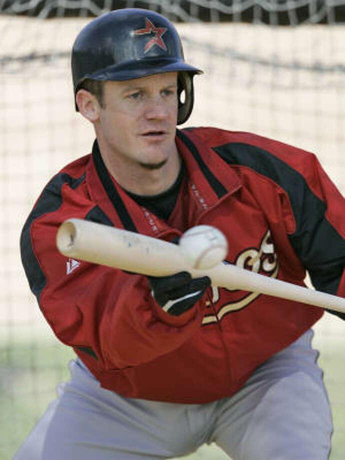 Astros pitcher Roy Oswalt had a National League-best 20 sacrifice bunts last season. Photo: David J. Phillip, AP