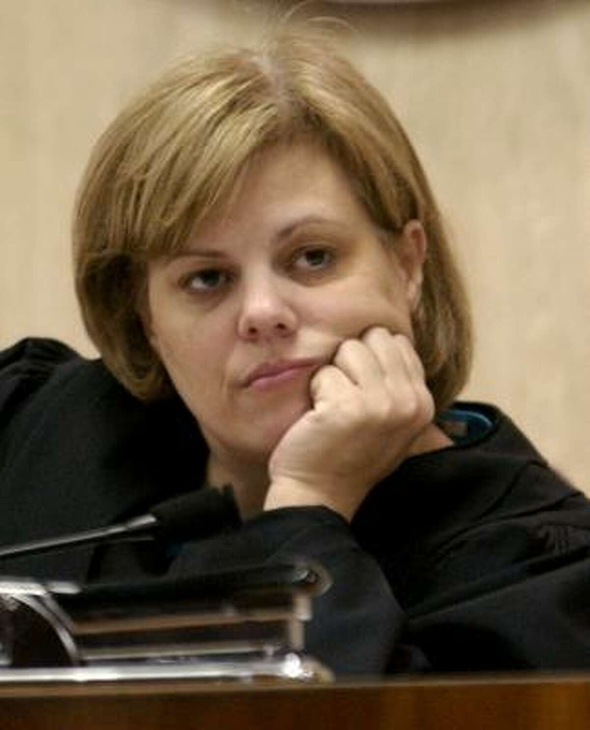 Judge Susan Criss is concerned that Dupuy could be a threat to others.