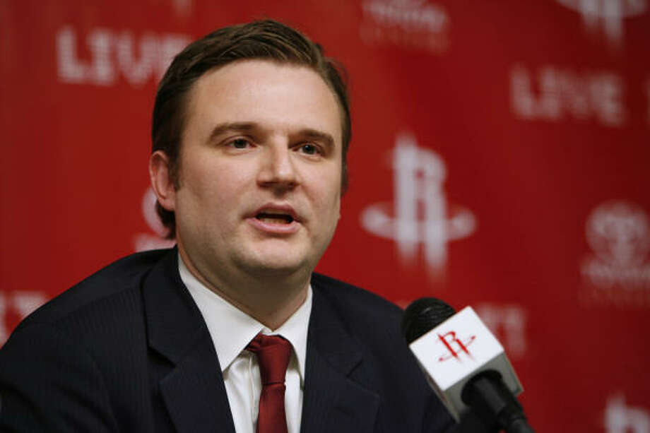"""Rockets general manager Daryl Morey said the process involved to determine if Jeff Van Gundy would return as Rockets coach was """"odd"""" and ended up facillitating Van Gundy's firing. Photo: Kevin Fujii, Chronicle"""