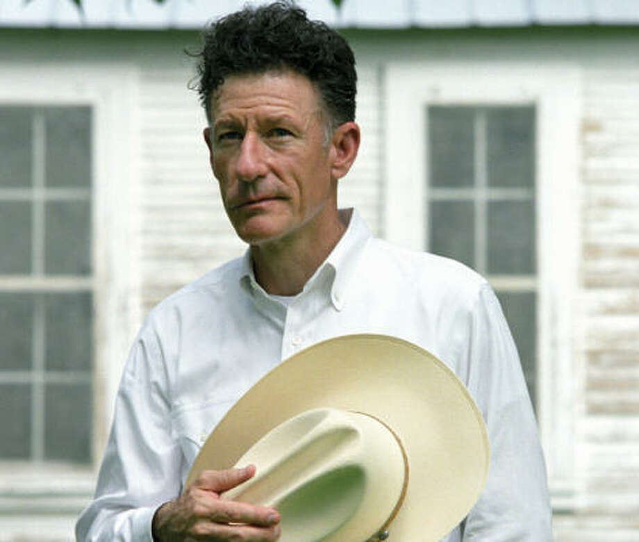 Lyle Lovett's It's Not Big It's Large hits stores today. Photo: Universal/Lost Highway