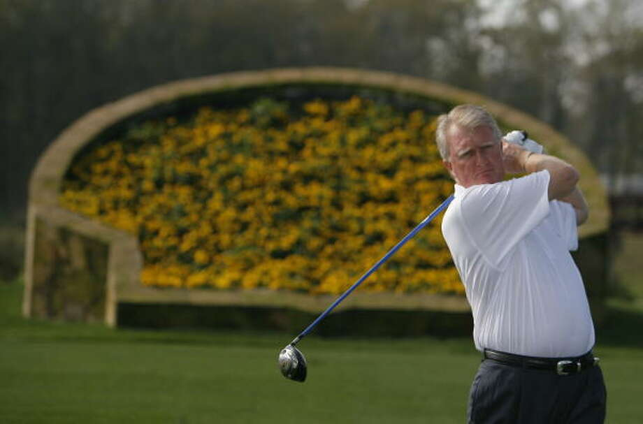 Steve Timms, president of the Houston Golf Association and tournament director for the SHO,  is confident that word of mouth among the players about the new course setup will benefit the event in coming years. Photo: Steve Campbell, Chronicle