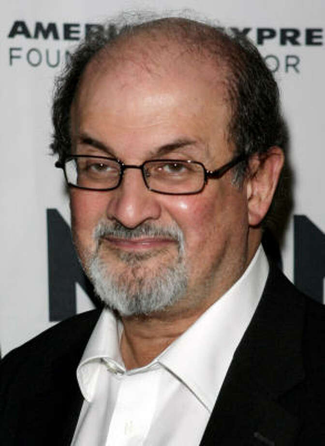Salman Rushdie poses for a picture before the gala presentation of the Montblanc de la Culture Award in New York, May 2.  It was announced on June 16 that Rushdie will receive a knighthood in Britain's Queen Elizabeth's Birthday Honours list. Photo: Seth Wenig, AP