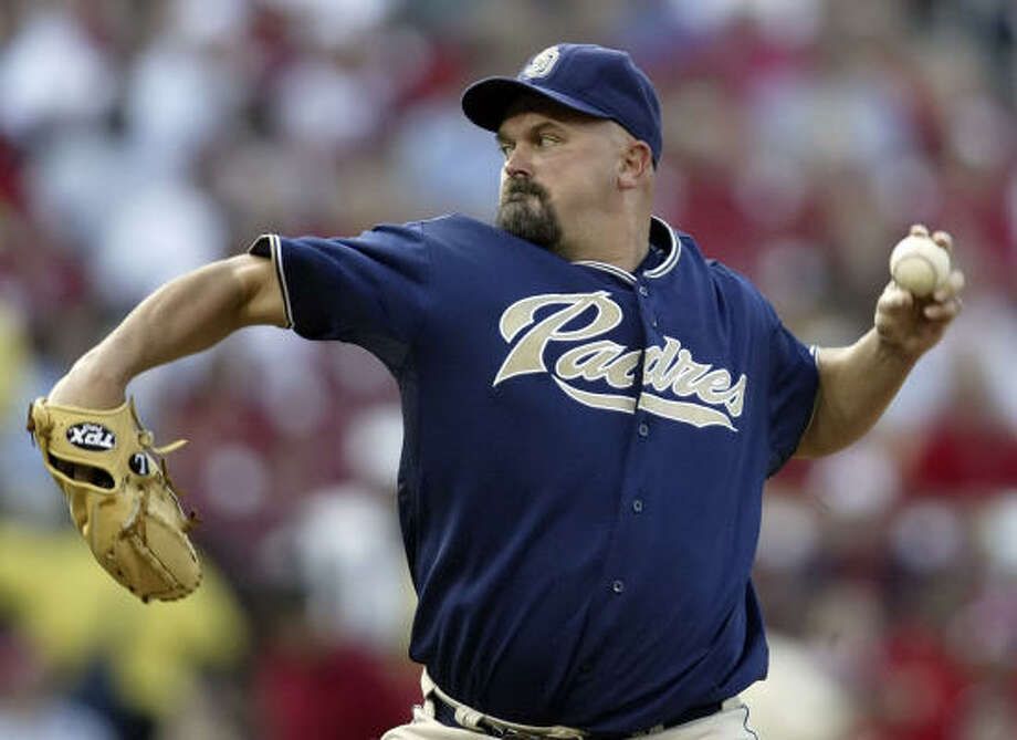 The Dodgers signed veteran LHP David Wells to a contract on Thursday. Wells will start against the Mets on Sunday night. Photo: Tom Gannam, AP